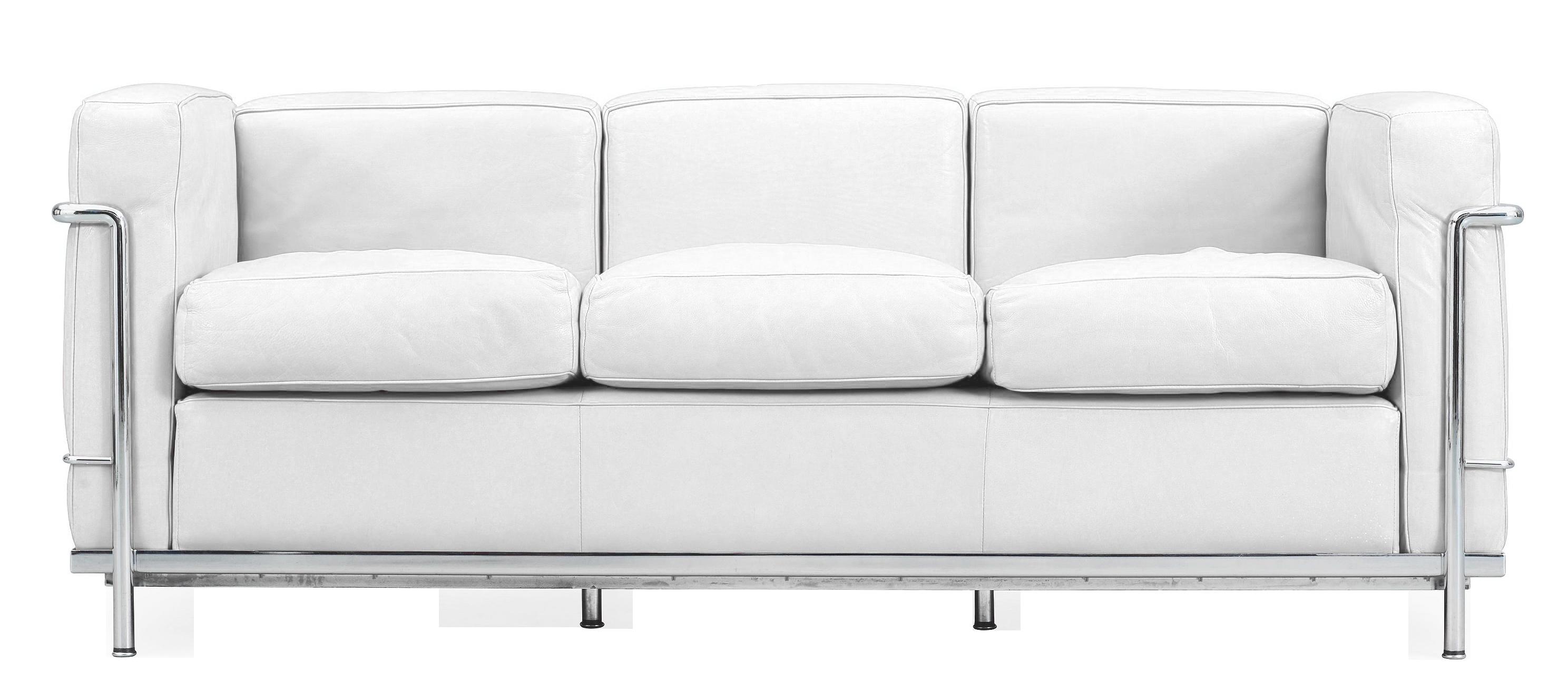 Design Furniture Rental Paris - Sofa LC2  Le Corbusie