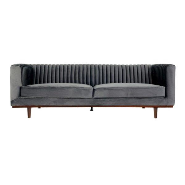 Sofa-grey-velvet-rental-furniture-in-Paris-