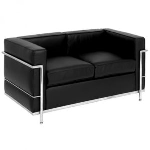 LC2 SOFA - LE CORBUSIER- PARIS RENTAL FURNITURE