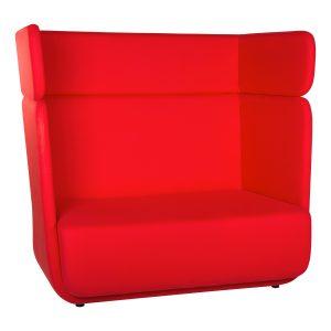 Basket Sofa With High Back-rental-furniture in paris