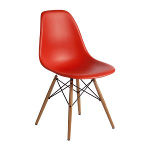 DSW-chair red rental-hire-furniture in paris-france