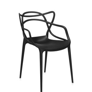 Master Chair black rental-hire-furniture in paris-france