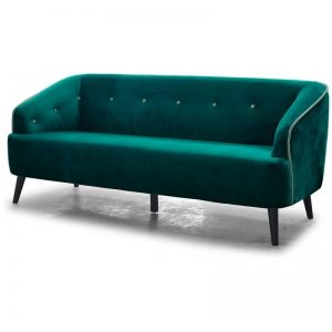 Sofa velvet -rental-furniture-paris-france