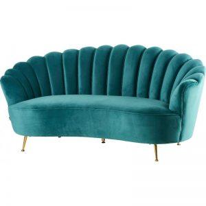 Sofa velvet -rental-furniture-paris-
