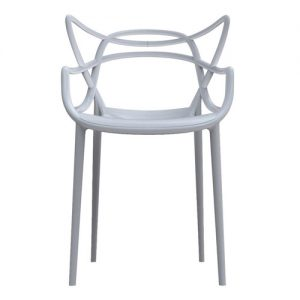 Master Chair white rental-hire-furniture in paris-france