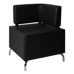 Furniture Hire Paris Pouf-Cubos-corner-black in Paris - France