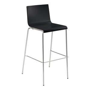 stool Kuadra_black rental-hire-furniture in paris-france_