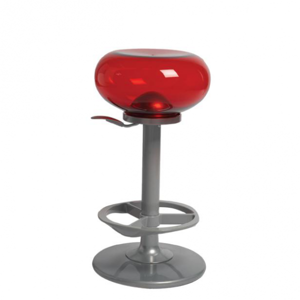 BUBBLE red-Rental-furniture in Paris-France