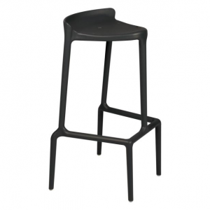Glamour black-Rental-furniture in Paris-France