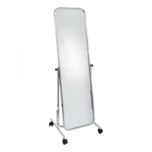 Length mirror chrome-Rental-furniture in Paris-France