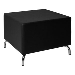 Pouf Cubos black -Rental-furniture in Paris-France
