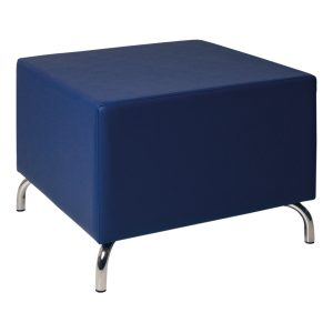 Pouf Cubos blue -Rental-furniture in Paris-France
