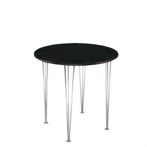 Events Furniture Table-Maya-black-Ø100 - Rental-furniture in Paris-France