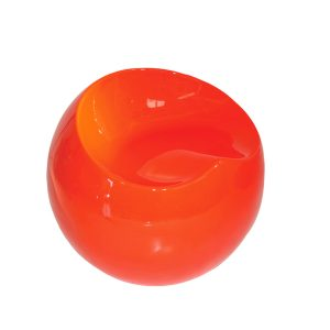 Design Events Furniture Pouf-Zalle-orange Events Furniture hire in Paris France