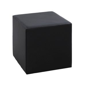 Events Furniture Rentals Pouf-carré-black in Paris - France