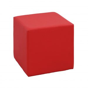 Events Furniture Rentals Pouf-carré-red in Paris - France