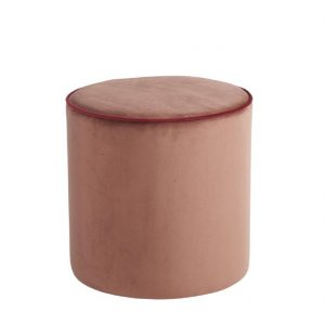 Design Lounge Rental Pouf-Softy-pink in Paris - France