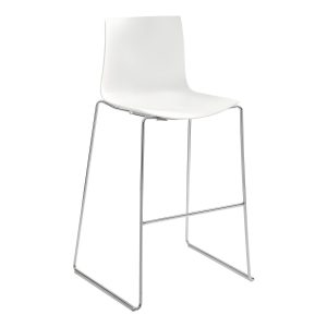 stool _Catifa_46 white rental-hire-furniture in paris-france