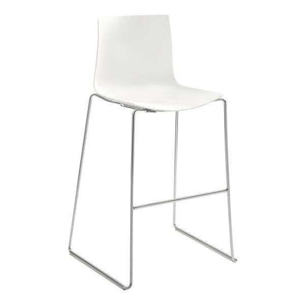 stool _Catifa_46 white rental-hire-furniture in paris-france