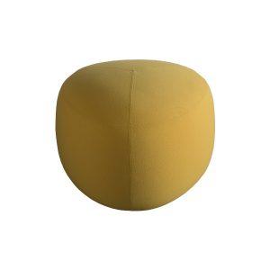Pouf Kipu 57 - yellow - Rental-furniture in Paris-France