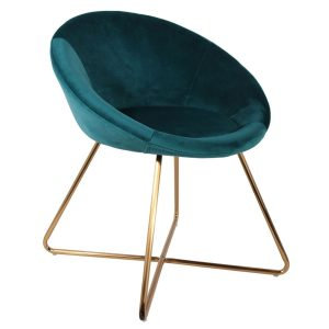 Velvet chair -Rental-furniture in Paris-France