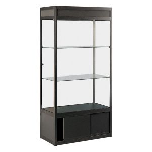 Showcase-tall-centre-cabinet . Rental-furniture hire in Paris-France