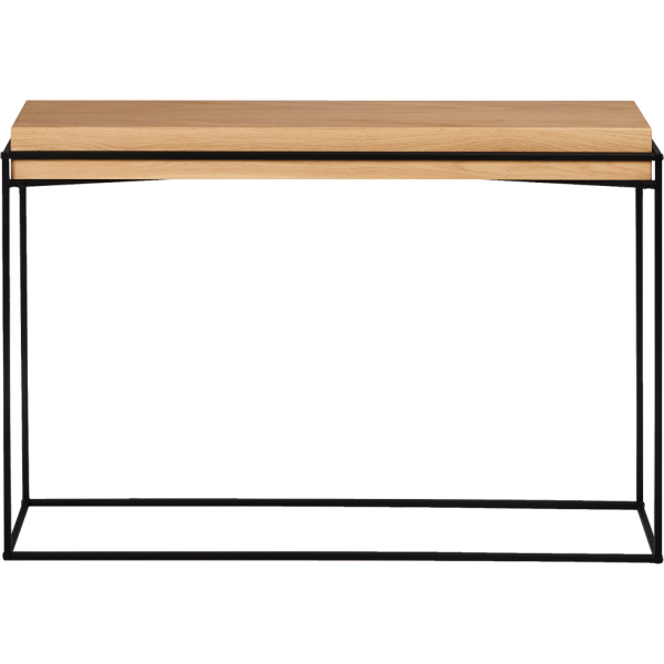 Desk Black& Wood - Rental-furniture Hire in Paris-France