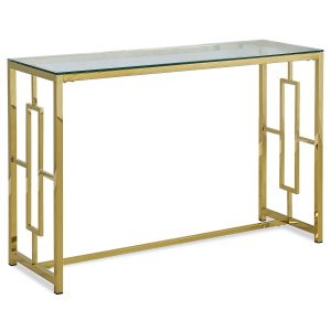 Desk Gold Metal - Rental-furniture Hire in Paris-France