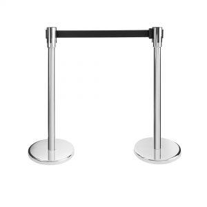 Flex - Queueway Retractable Belt -Showrooms furniture hire Paris