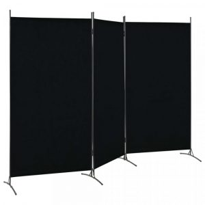 Room Divider Black -Showrooms furniture hire Paris