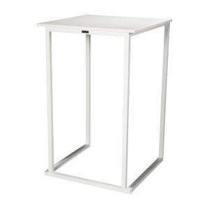 TABLE KUADRA II - White-Showroom-Rental-furniture in Paris-France