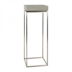 TABLE KUADRA THINY Grey-Showroom-Rental-furniture in Paris-France