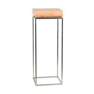 TABLE KUADRA THINY Oak-Showroom-Rental-furniture in Paris-France