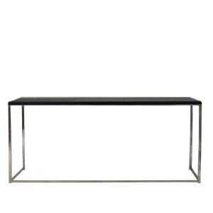 benche kuadra black-Showroom-Rental-furniture in Paris-France