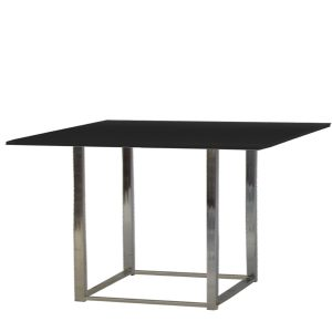 Table Kuadra- black -Showroom-Rental-furniture in Paris-France